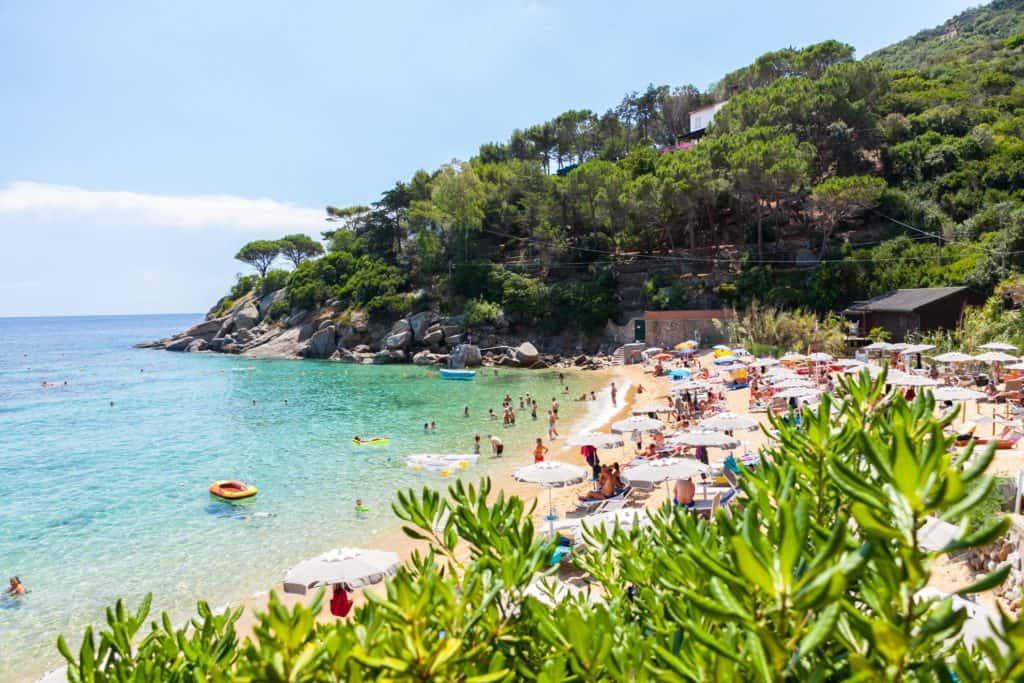 Spiaggia Le Caldane